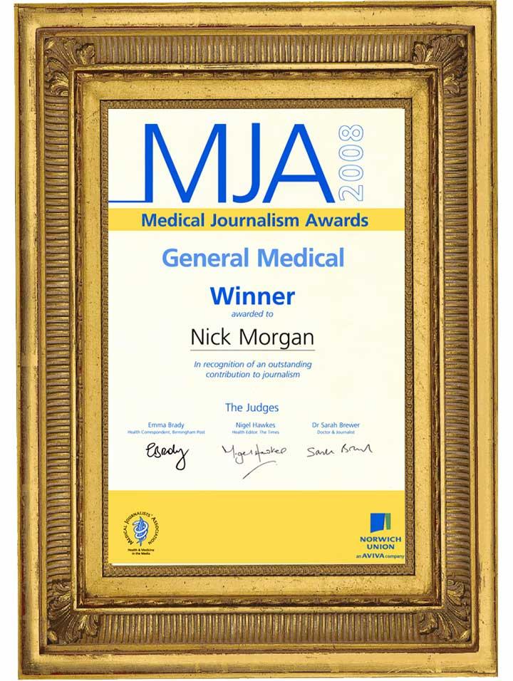 Medical Journalism Award
